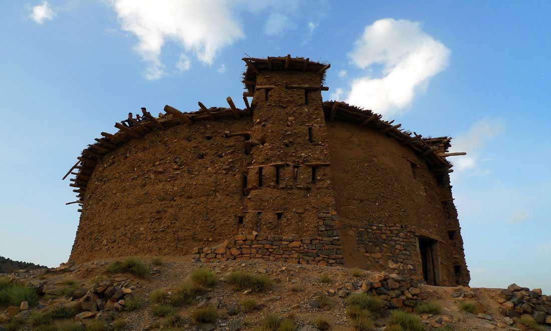 Grenier fortifié de Sidi Moussa à Timmit, vallée Aït Bouguemez
